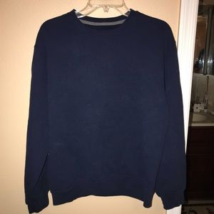 BUNDLE ONLY {fruit of the loom} dark blue sweater